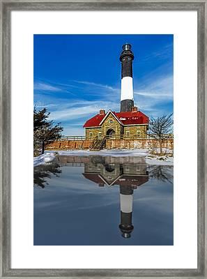 Fire Island Lighthouse Framed Print by Susan Candelario