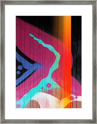 Fire Meets Water  Framed Print by JC Photography and Art