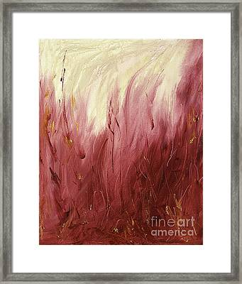 Fire Framed Print by Silvie Kendall