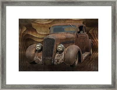 Fire Survivor 35 Plymouth Framed Print by Jack Zulli