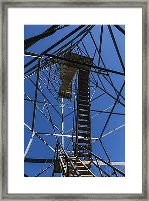 Fire Watch Tower Elba 3 Framed Print by John Brueske