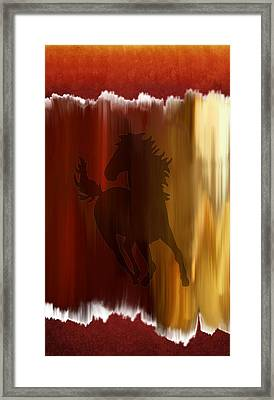 Fire Within Framed Print by Art Spectrum