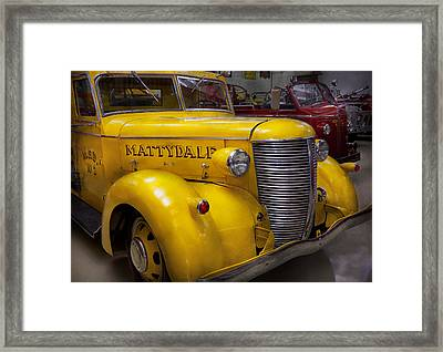 Fireman - Mattydale  Framed Print by Mike Savad