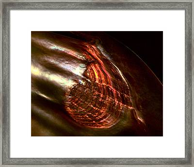 Firestorm Framed Print by Rona Black
