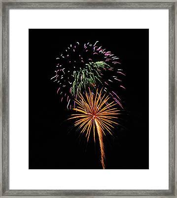 Firework 5 Framed Print by Mark Victors