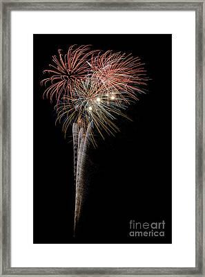 Fireworks 2013 5645 Framed Print by Ken DePue