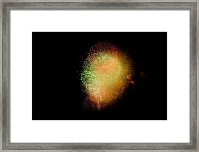 Fireworks  Framed Print by Brynn Ditsche