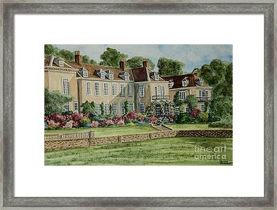Firle Place England Framed Print by Charlotte Blanchard