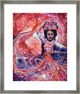 First Chakra Angel Dance Your Dreams To Life Framed Print by Ashleigh Dyan Bayer