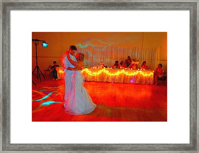 First Dance Framed Print by Jame Hayes