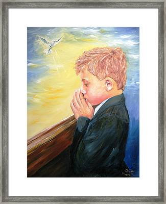 First Holy Communion Framed Print by Dave Manning