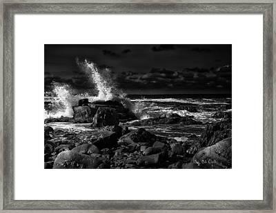 First Light - Kennebunkport Maine Framed Print by Bob Orsillo