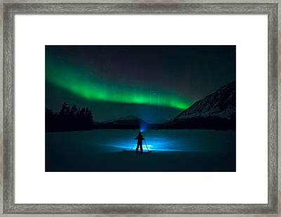 First Love Framed Print by Tor-Ivar Naess