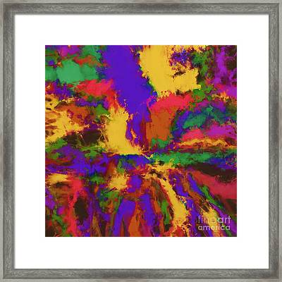 First Moment Framed Print by Keith Mills
