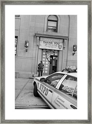 First Precinct Nyc Framed Print by Robert Lacy