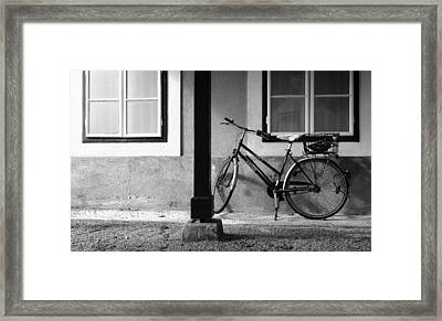 First Ride Framed Print by Christian Slanec