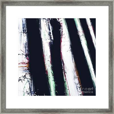 First Shadow Framed Print by Keith Mills