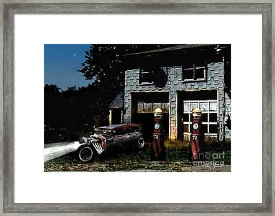 First Star Framed Print by Tom Straub