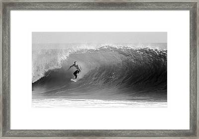 First Wave Framed Print by Daniel Hagerman