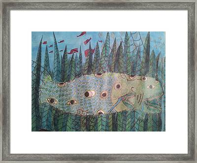 Fish 4 Framed Print by William Douglas