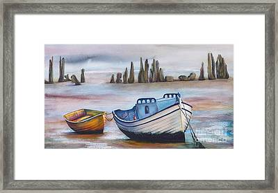 Fish Another Day Framed Print by Jany Schindler