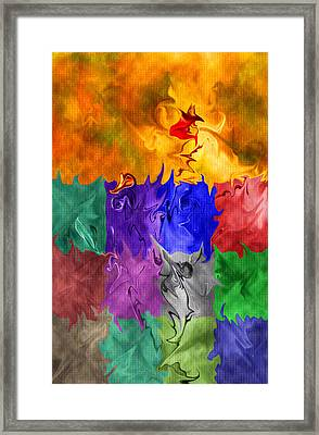 Fish Are Jumping Framed Print by Tom Romeo