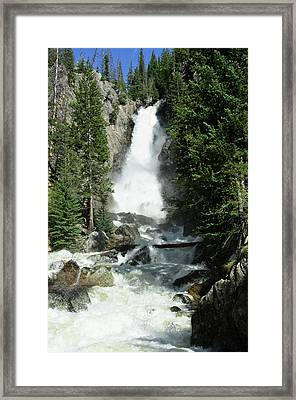 Fish Creek Falls Framed Print by Julie Rideout