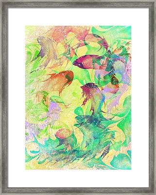 Fish Dreams Framed Print by Rachel Christine Nowicki