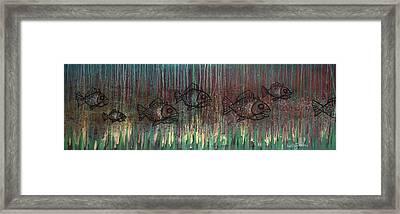 Fish Framed Print by Kelly Jade King