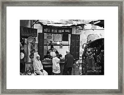 Fish Shop Framed Print by Marion Galt