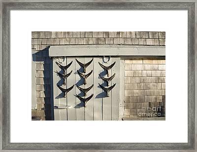 Fish Tail Shack Framed Print by John Greim