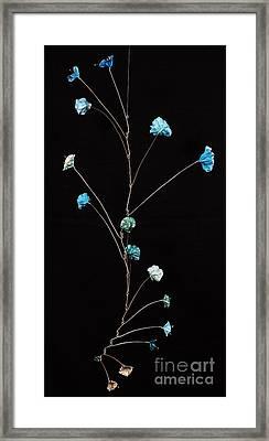 Fish Tale Framed Print by Mattie O