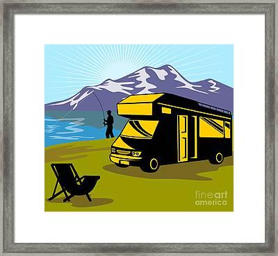 Fisherman Caravan Framed Print by Aloysius Patrimonio