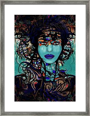 The Sea Goddess Framed Print by Natalie Holland