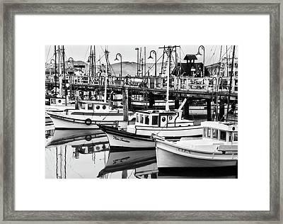 Fishermans Wharf Framed Print by Mick Burkey
