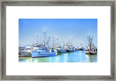 Fisherman's Wharf Framed Print by Theresa Tahara