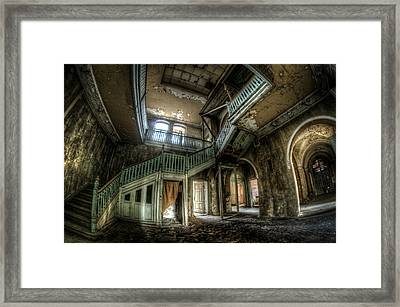 Fisheye From Below  Framed Print by Nathan Wright