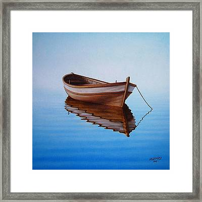 Fishing Boat I Framed Print by Horacio Cardozo