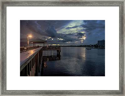 Fishing Nights Framed Print by Michael Frizzell