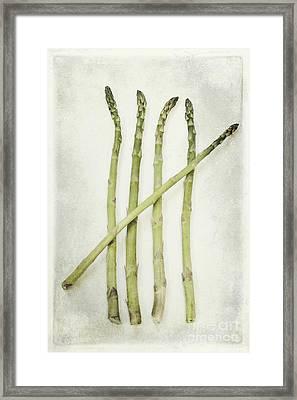 Five Framed Print by Priska Wettstein