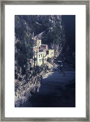 Fjord Framed Print by Joana Kruse