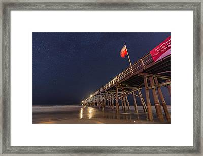Flagler Beach Framed Print by Kristopher Schoenleber