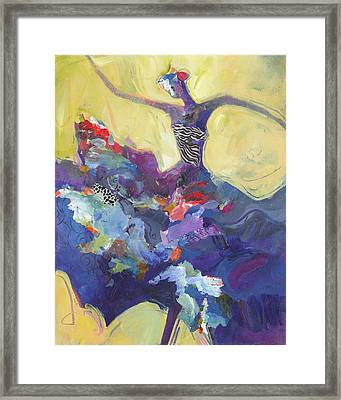Flamenco Dancer No 5 Framed Print by Shelli Walters