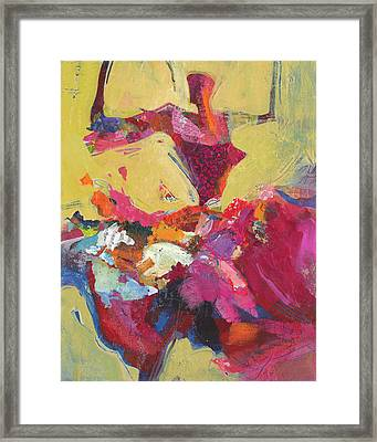Flamenco Dancer Framed Print by Shelli Walters