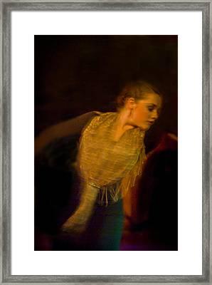 Flamenco Series 23 Framed Print by Catherine Sobredo