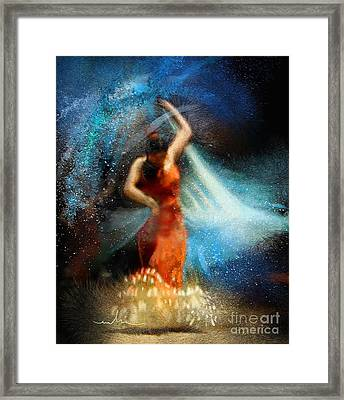 Flamencoscape 05 Framed Print by Miki De Goodaboom