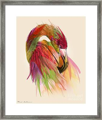 Flamingo  Framed Print by Mark Ashkenazi