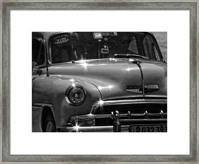 Flash And Dash  Framed Print by Connie Handscomb