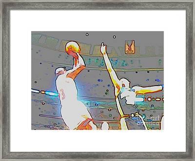 Flashing Greatness Framed Print by Brandon Ramquist