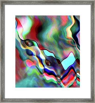 Flat Dog Framed Print by Terril Heilman